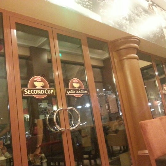 Photo taken at Second Cup by Ahmed B. on 10/25/2012
