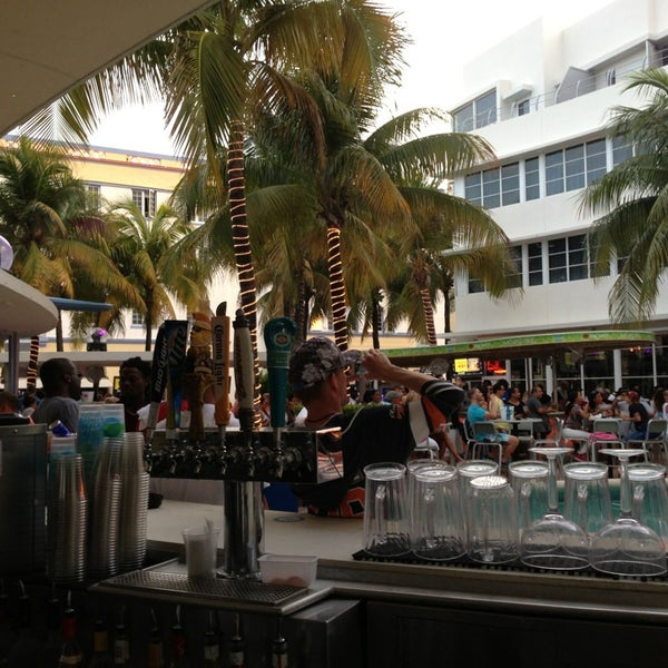 Photo taken at Clevelander South Beach Hotel and Bar by Kern F. on 6/2/2013