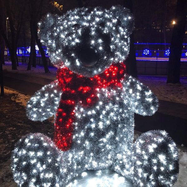 Снимок сделан в Щемиловский детский парк пользователем Илья Н. 12/21/2017