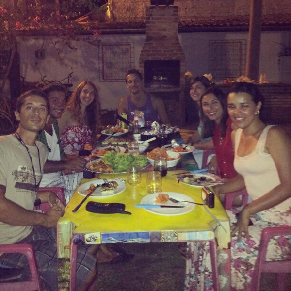 Foto tirada no(a) La Rocca Brasil - Beach Hostel Porto de Galinhas por Natalia R. em 1/1/2013