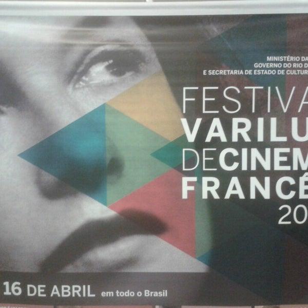Photo taken at Cinespaço Beiramar by Hiedo F. on 4/12/2014