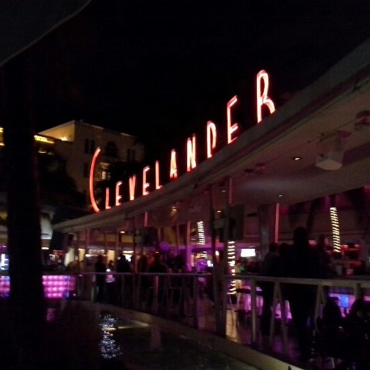 Photo taken at Clevelander South Beach Hotel and Bar by Eric J. on 1/18/2013