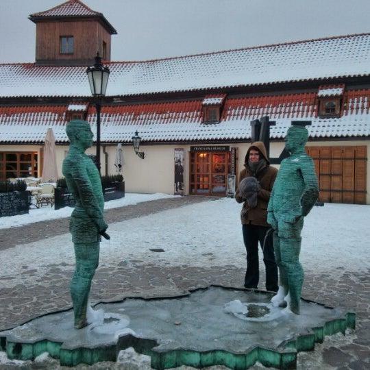 1/26/2013 tarihinde Cora G.ziyaretçi tarafından Franz Kafka Museum'de çekilen fotoğraf
