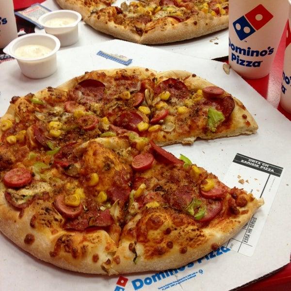 domino pizza 2013 10k
