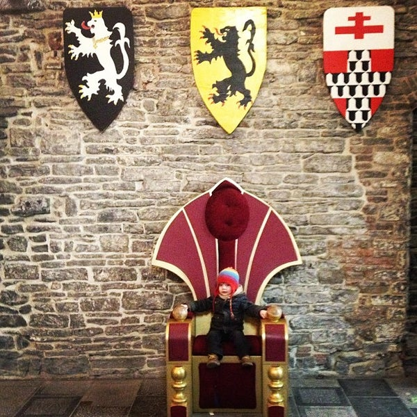 Photo taken at Castle of the Counts by Stefan V. on 3/3/2013