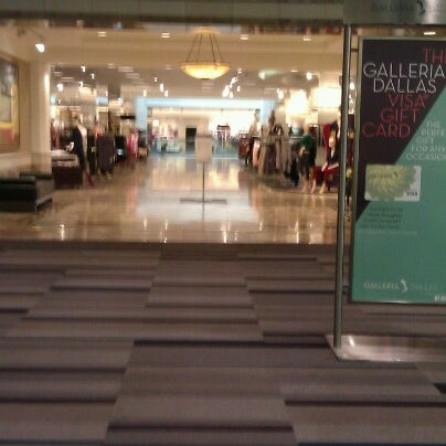 Photo taken at Nordstrom Galleria Dallas by Funhiguy on 10/2/2012