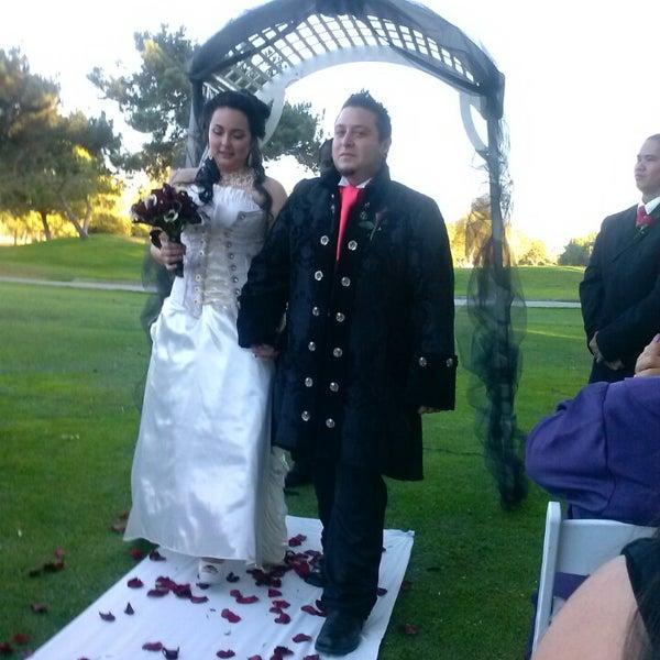 Photo taken at El Dorado Wedding & Events Center by Lawrence Y. on 11/3/2013