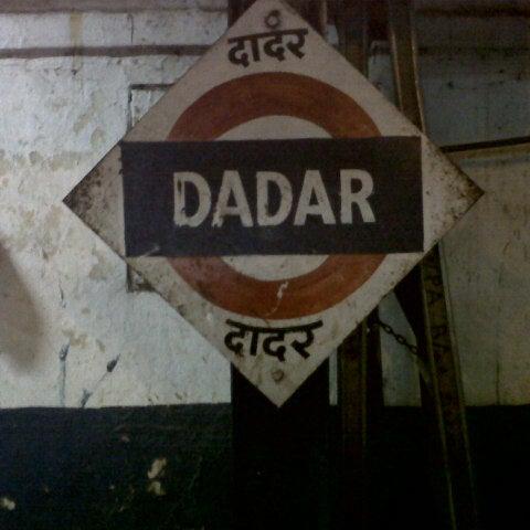 Photo taken at Dadar Railway Station by Aditya S. on 10/1/2012