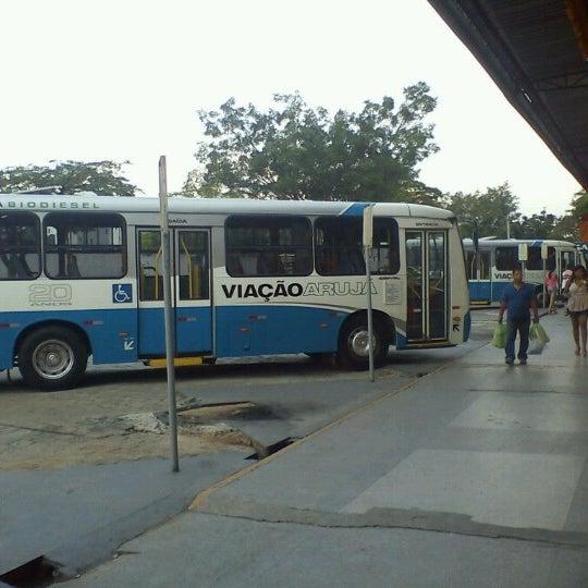 Photo taken at Terminal Rodoviário Arujá by Leonardo S. on 10/27/2012