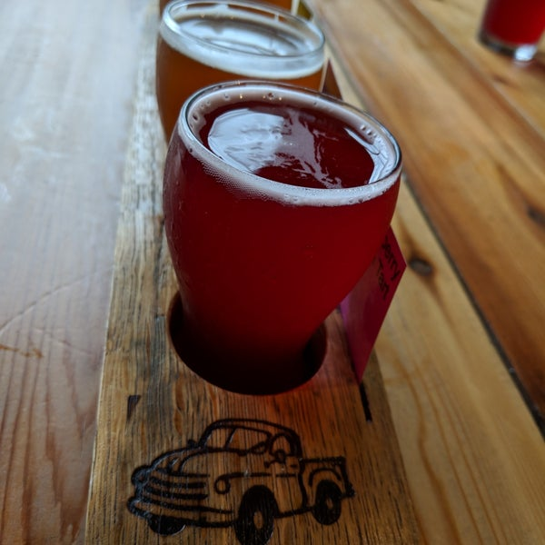 Photo taken at Good People Brewing Company by Scott A. on 3/11/2018