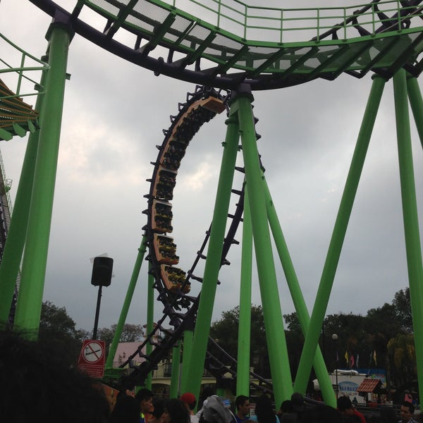 Photo taken at Six Flags México by Daniel C. on 5/12/2013