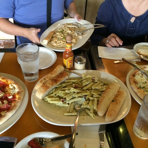 Photo taken at California Pizza Kitchen by Marykarl-Novemb D. on 8/21/2014
