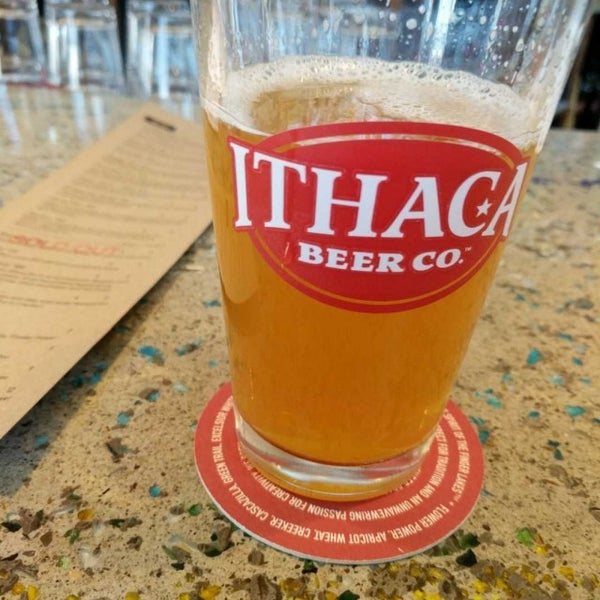Photo taken at Ithaca Beer Co. Taproom by Jason B. on 3/5/2017