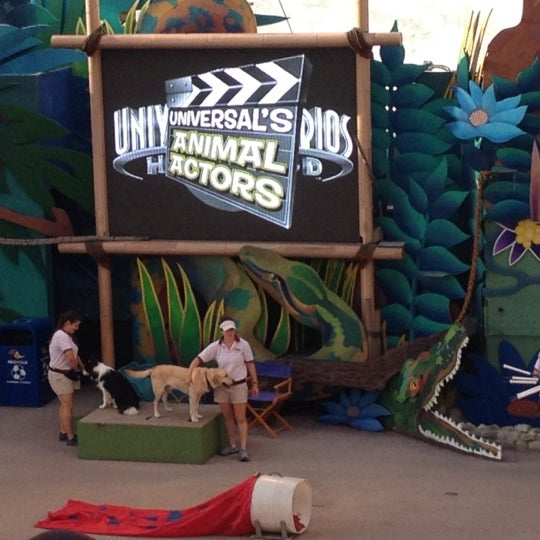 Photo taken at Universal's Animal Actors by Patricia H. on 10/4/2012