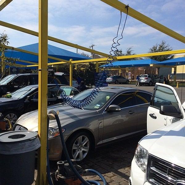 Photo taken at Carmel Car Wash by Mark B. on 3/9/2014