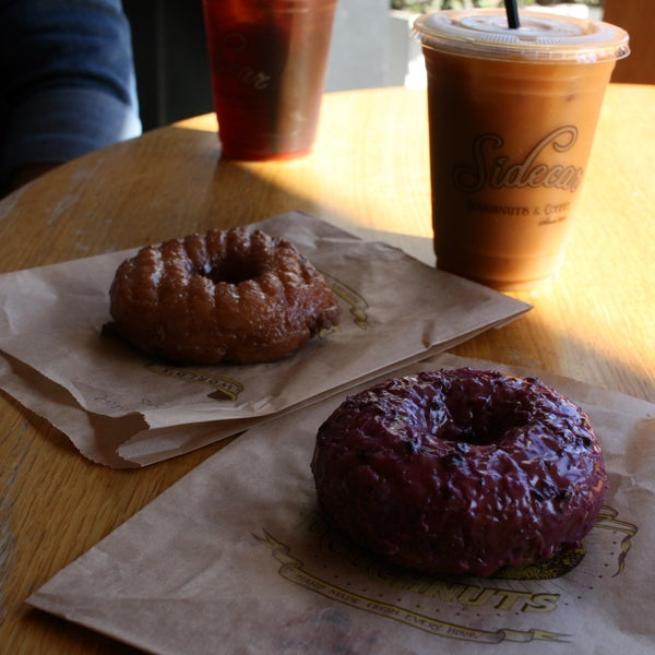 Loved the huckleberry donut