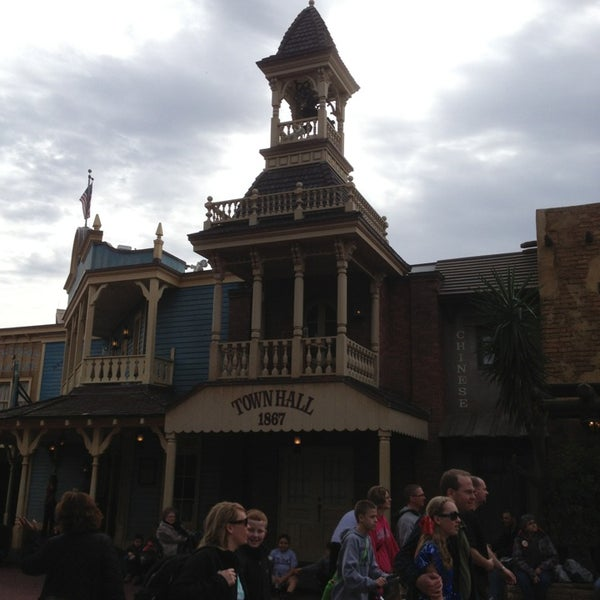 Photo taken at Frontierland by RJ L. on 12/24/2012