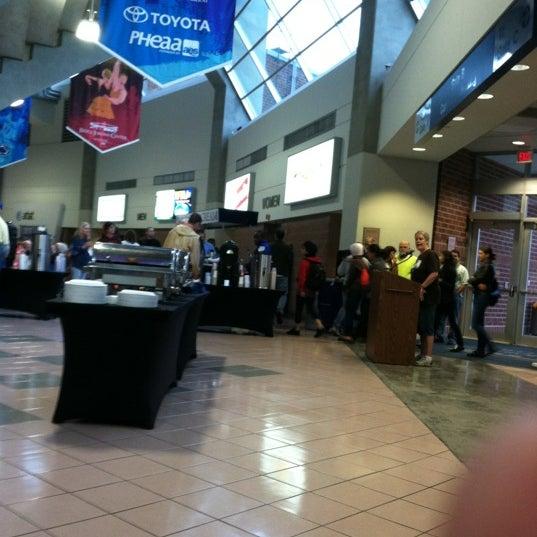 Photo taken at Bryce Jordan Center by Melissa H. on 10/4/2012