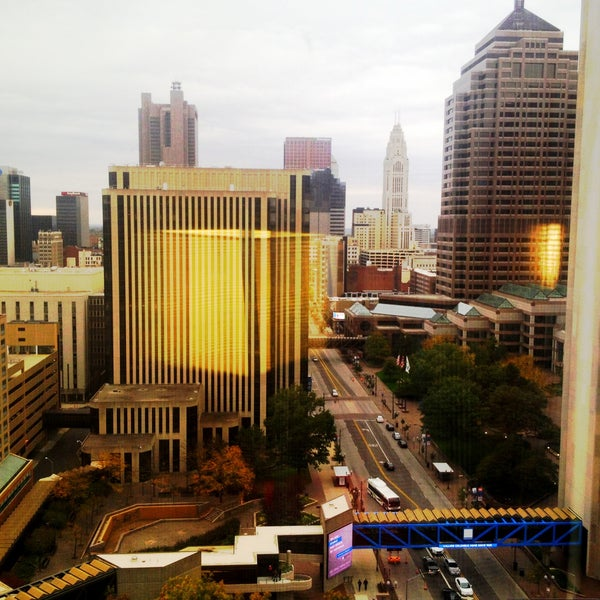 Photo taken at Hyatt Regency Columbus by Vanessa K. on 10/26/2013