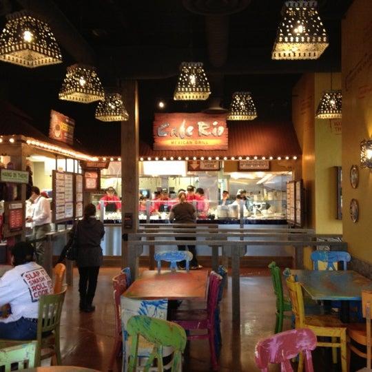 Cafe Rio Menu Falls Church