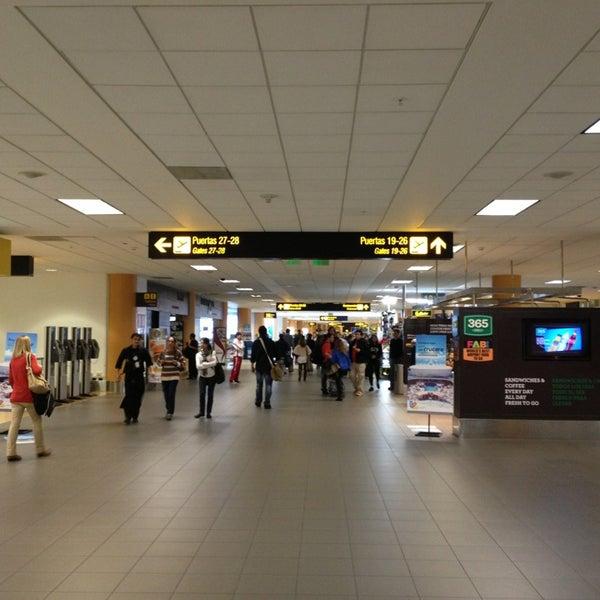 Photo taken at Jorge Chávez International Airport (LIM) by Emiliano on 7/10/2013