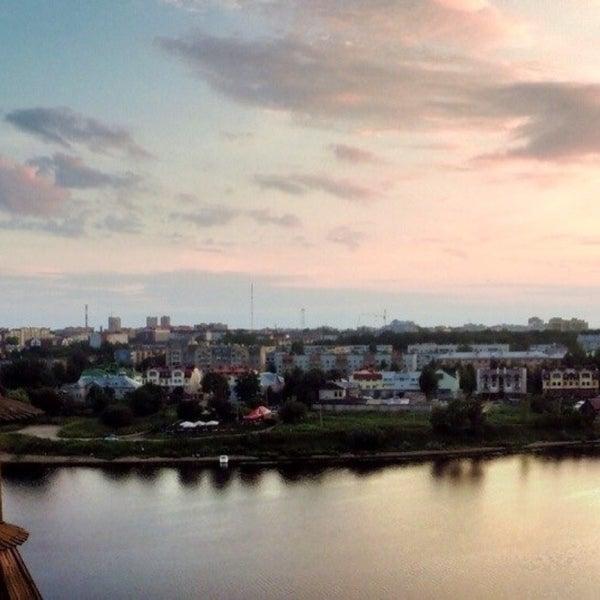 Photo taken at Pskov by Dmitry T. on 10/15/2016