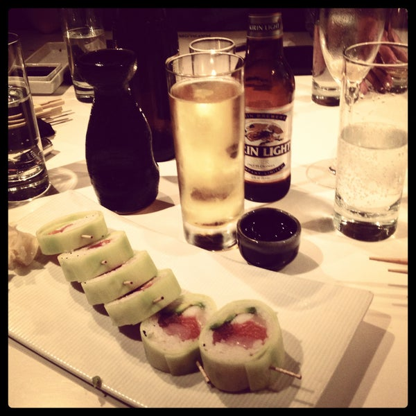 Photo taken at Katsuya Brentwood by Ann S. on 5/14/2013