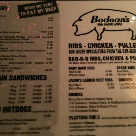 รูปภาพถ่ายที่ Bodean's โดย Nadiah Hanim เมื่อ 12/15/2012