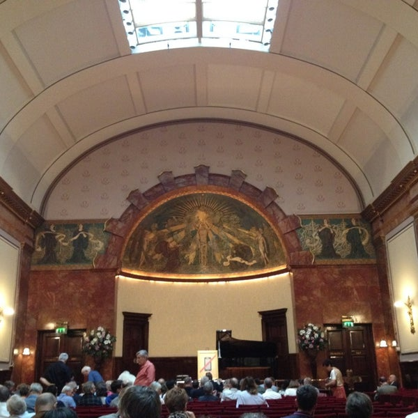 Photo taken at Wigmore Hall by Janis K. on 9/28/2014