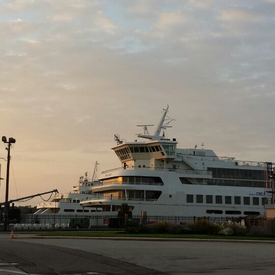 Photo taken at Cape May-Lewes Ferry | Cape May Terminal by Tom H. on 8/30/2013