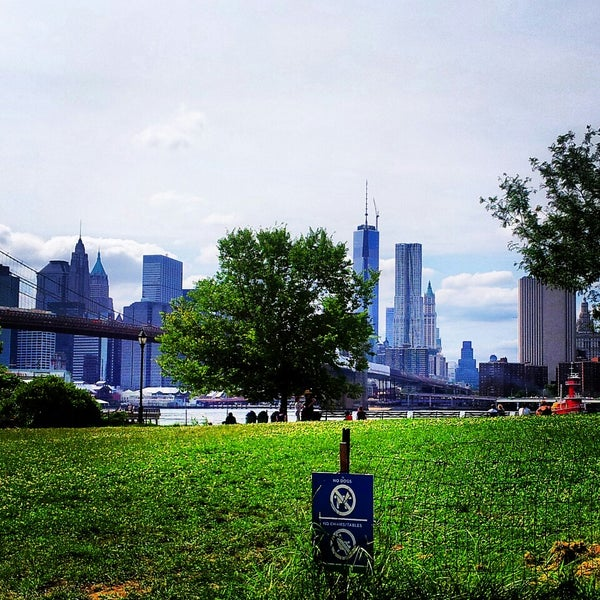 Photo taken at Brooklyn Bridge Park by Angelica F. on 7/24/2013