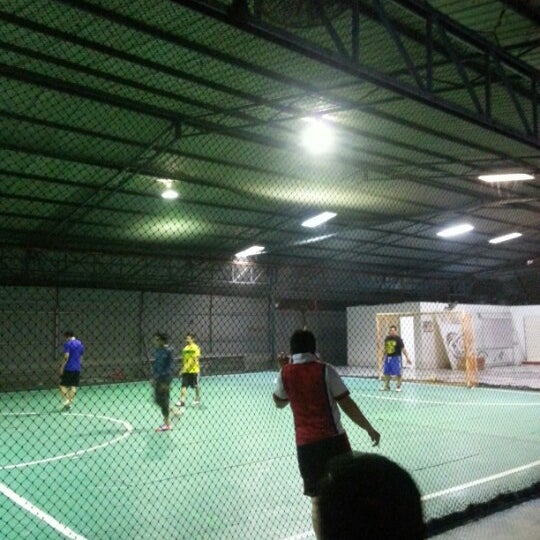 Photo taken at Anis & Eisya Danau Futsal by manap @. on 1/17/2013