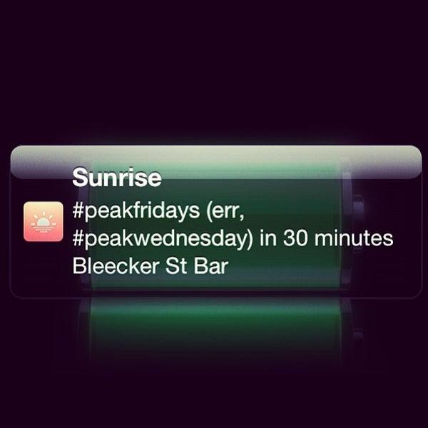 Photo taken at Bleecker Street Bar by Rafael G. on 7/3/2013