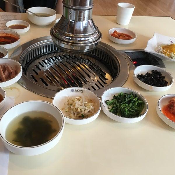 Photo taken at Daorae Korean BBQ Restaurant by Yoshiaki K. on 2/7/2016