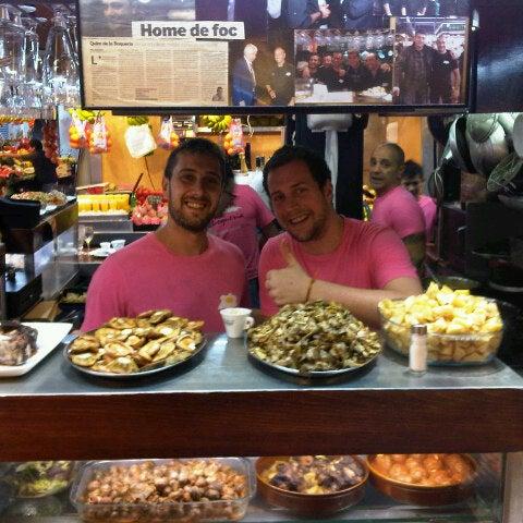 Foto tomada en El Quim de la Boqueria por Diana P. el 10/25/2012