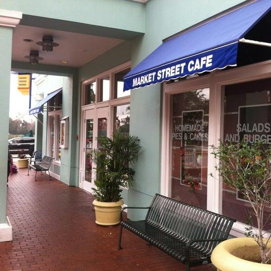 Market Street Cafe Celebration Menu