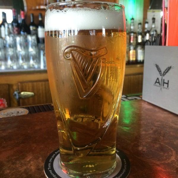 Photo taken at Dubliner Pub by Erin H. on 4/8/2014