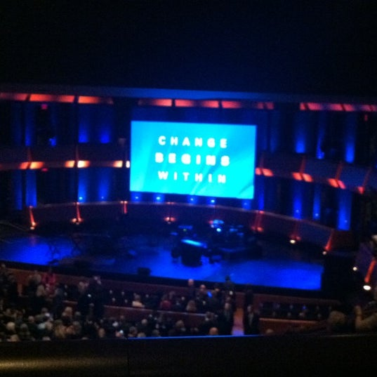 Photo taken at Rose Theater by Megan A. on 12/14/2012