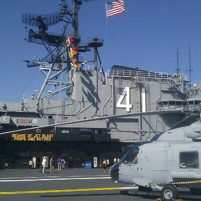 Photo taken at USS Midway Museum by Tom K. on 10/14/2012