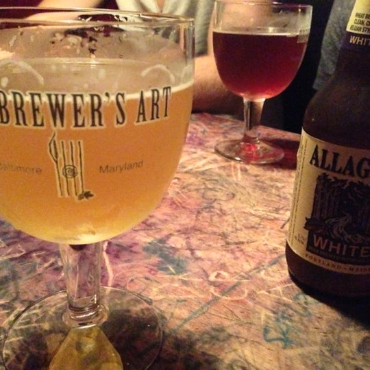 Photo taken at The Brewer's Art by Patrick S. on 9/23/2012