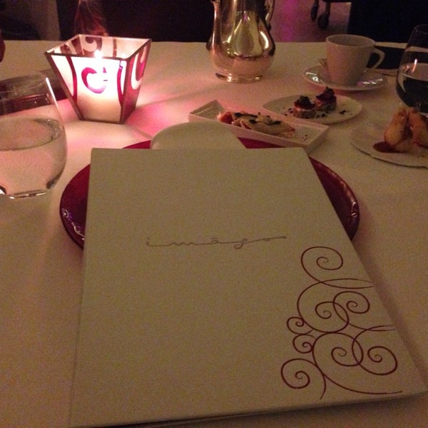 Photo taken at Imago Restaurant by Yana L. on 9/15/2014