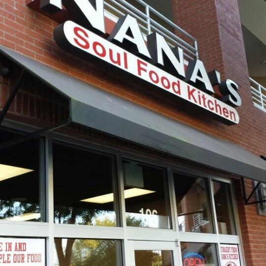 Photo taken at Nana's Soul Food Kitchen by Christian B. on 10/27/2013