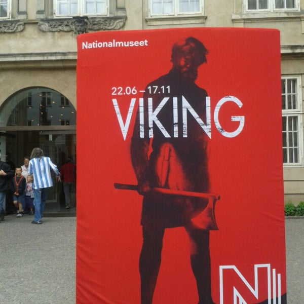 Photo taken at National Museum of Denmark by Nina H. on 7/10/2013