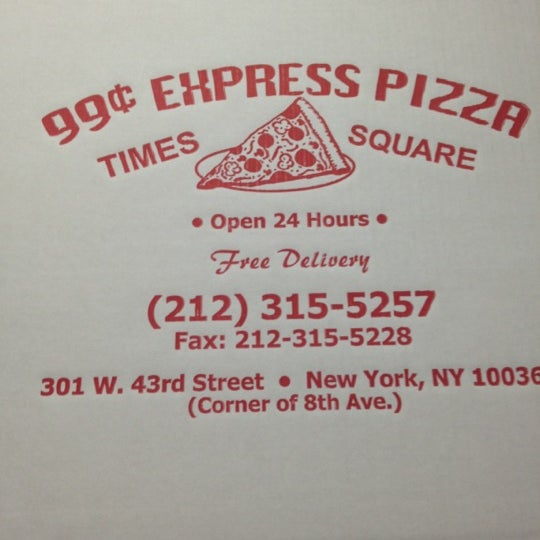 Photo taken at 99¢ Fresh Pizza by Shari A. on 12/15/2012