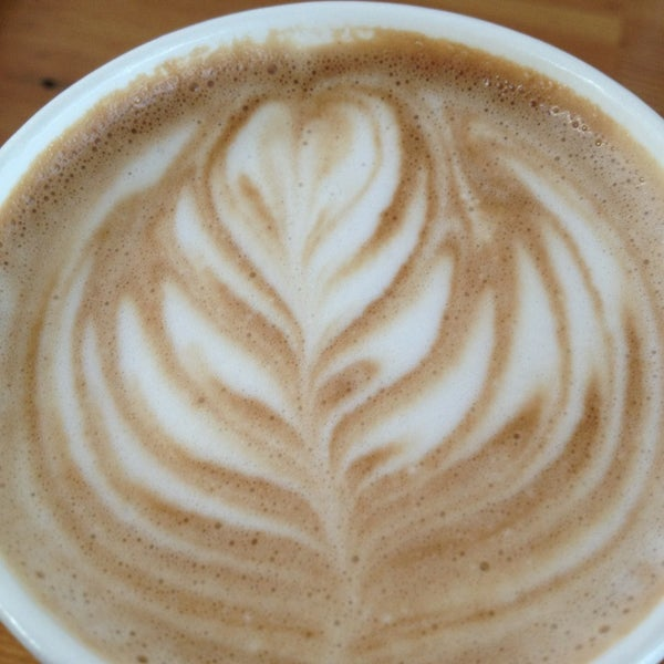 Photo taken at Victrola Cafe and Roastery by feistyfeaster on 5/1/2013
