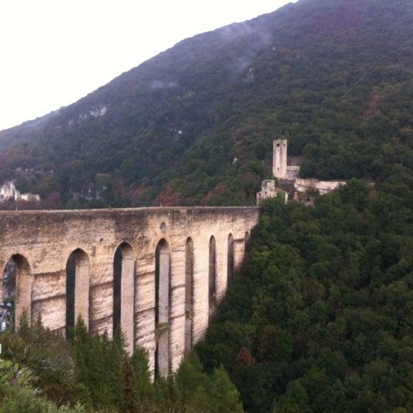 Photo taken at Ponte Delle Torri by Antonio M. on 3/25/2013