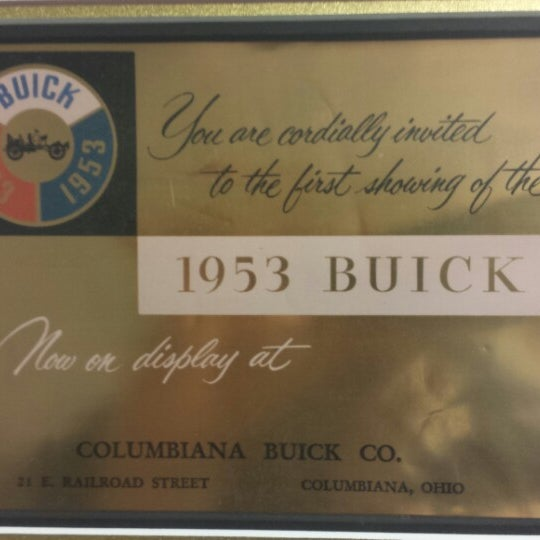 Photo Taken At Columbiana Buick, Cadillac, Cheverlot By Matt B. On 1/