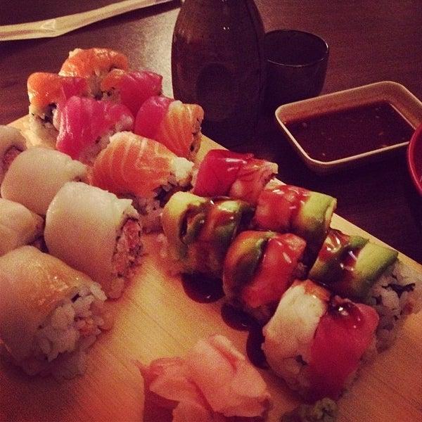 Photo taken at Cherin Sushi by Brenda O. on 3/1/2014