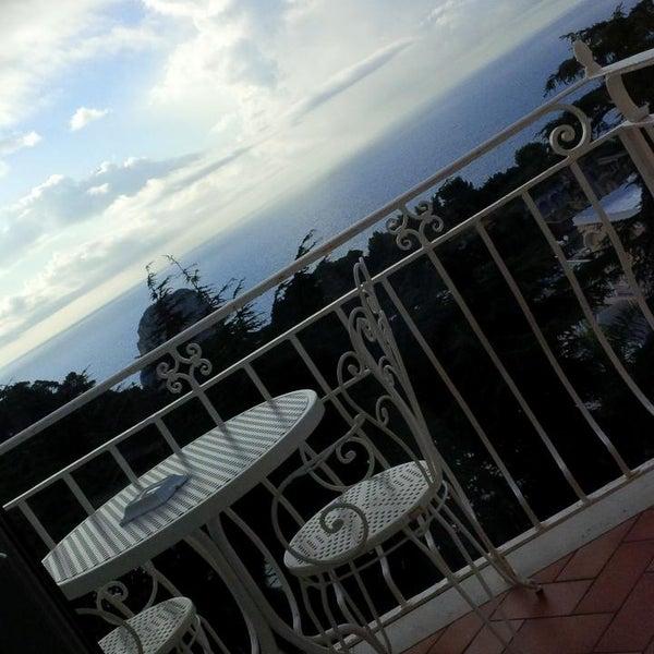 Photo taken at Quisisana Grand Hotel by Romina M. on 10/7/2013