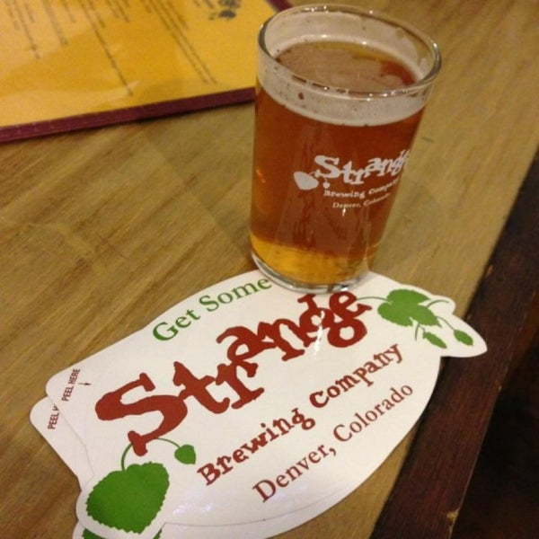 Photo taken at Strange Craft Beer Company by Scott K. on 4/30/2013
